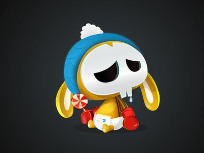 Baby Jumps vectober vectors illustration character-design game-design