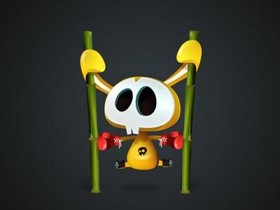 Wall Jumping vectober vectors illustration character-design game-design