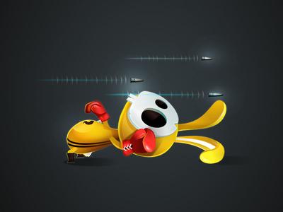 Bullet Hell vectober vectors illustration character-design game-design