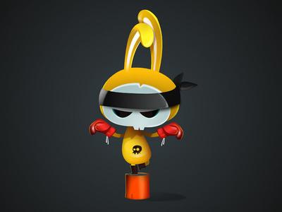 Shaolin vectors illustration character-design game-design vectober