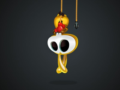Basic Grapple game-design character-design illustration vectors vectober