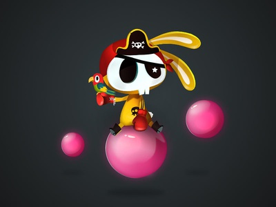 Pilatesofcarebeean game-design character-design illustration vectors vectober