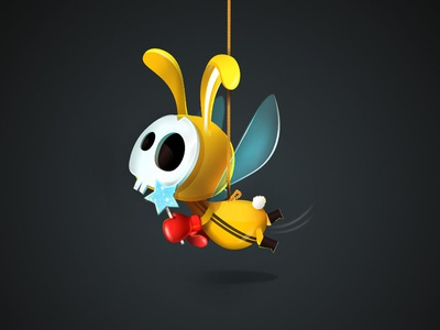 Toothfairy Loves You game-design character-design illustration vectors vectober