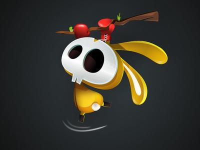 Hanginthere game-design character-design illustration vectors vectober