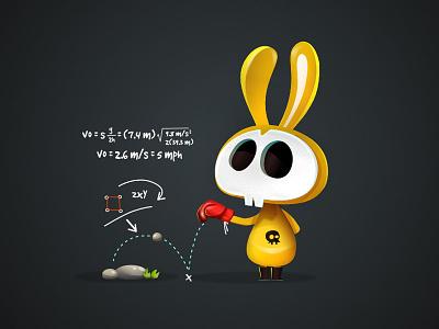 Jump Precision game-design character-design illustration vectors vectober