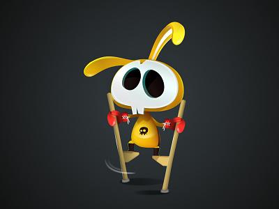 Giraffe On Skates game-design character-design illustration vectors vectober