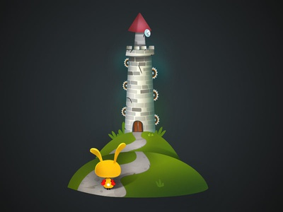 Tower Of Saws game-design character-design illustration vectors vectober