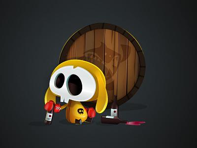 Vine Cellar game-design character-design illustration vectors vectober