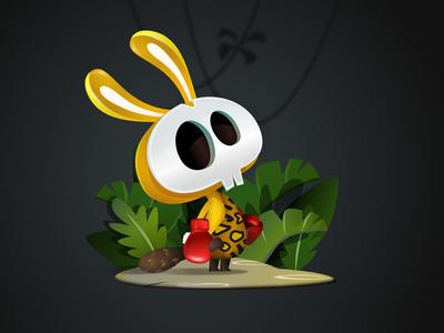Tarzan to Heck game-design character-design illustration vectors vectober