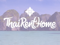 Lettering for Rental Company: ThaiRentHome