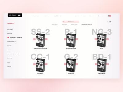 Pete Cornish: Product Catalogue Shot