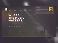 KEXP: Website Redesign Concept