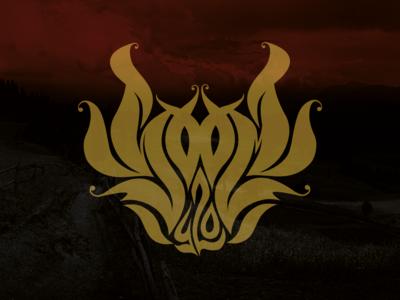 Lettering logo for Rock Band: Soom