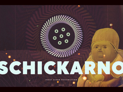 Logo, Poster and Album Cover for Rock Band: Schickarno