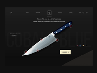 Product Page for Chef Knife