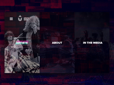 Website & Visual Design for Indie Record Label