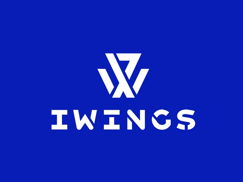 IW stencil hitech responsive logo iwings