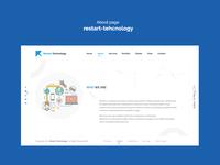 About page  restart-tehcnology