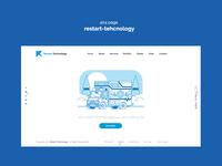 404 page  restart-tehcnology