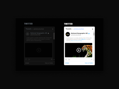 Design API Twitter