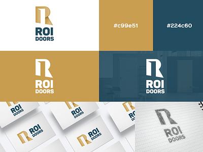 ROI Doors - Logo Design
