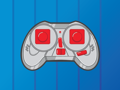 OnePlus Console console gaming design vector illustration flat