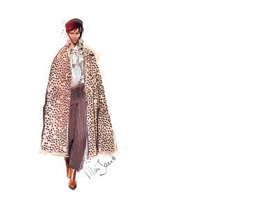 Marc Jacobs 2019 fashion-illustration fashionweek marc jacobs design girl illustration female
