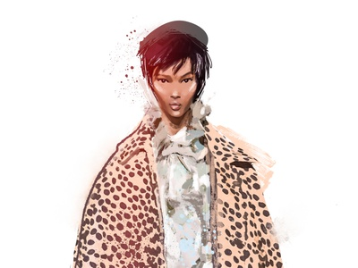 Marc Jacobs 2019 fashionweek fashion-illustration fashion design illustration female