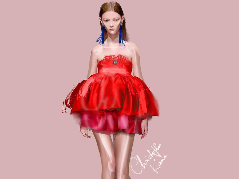 Kane 2019 fashion illustration girl