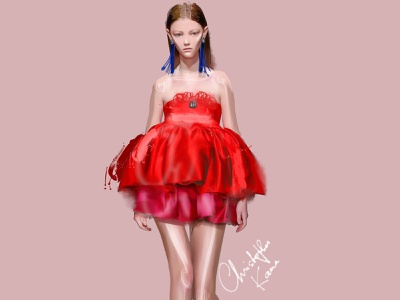 Kane 2019 fashion illustration girl