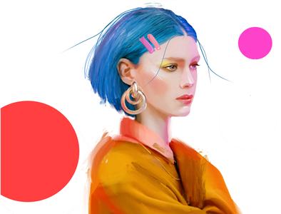 80s never fail characters fashion-illustration female design fashion print sketch illustration girl portrait