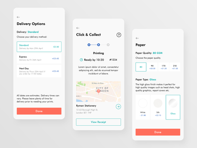 Printt App - wip