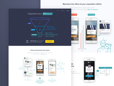 Outperform your ROI Goals - Second Iteration homepage web