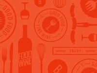 Food & Wine Pattern Play