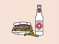 Primanti Bros. + Iron City Beer
