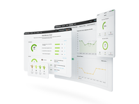 Product screenshots for BetterWorks website