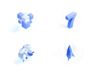 Isometric illustrations 4