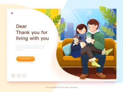 Dear,Thank you for living with you ui redesign motion mockup macbook mac illustrations folders finder blur apple lovers