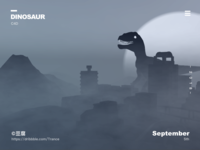 The dinosaurs came back to life