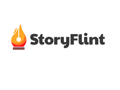 StoryFlint | Logo Creation branding concept brand identity brand logos logotype symbol branding webdesign logo design logodesign logo