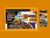 Scotty's Brewhouse | Website Redesign