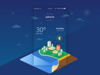 Weathers apps concept