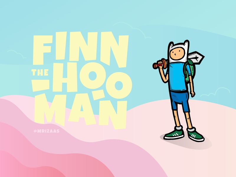 finn the human // adventure time adidas originals men human adventure time design illustration fun character cartoon network cartoon character