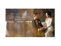 Wedding Film Stills for Bluray screen film wedding photoshop composite  image