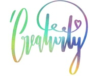 creativity lettering