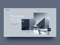 Architecture Portfolio creative design portfolio clean ux ui web website architects architecture