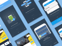 GrabOn Android App: Onboarding Screens