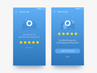 Rate The App Screen | GrabOn App