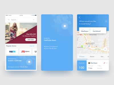 GrabOn | Cab Finder
