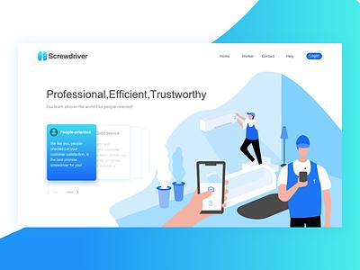redesign Screwdriver web